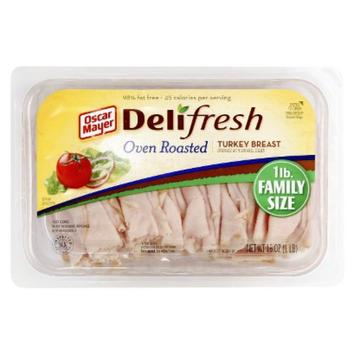 Oscar Mayer Deli Fresh Shaved Oven Roasted Turkey Breast
