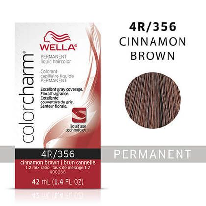 Wella Color Charm Liquid 4R Cinnamon Brown