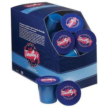 Eziba Timothys World Coffee Variety Pack of K-Cups for Keurig Brewers (Pack of 88)