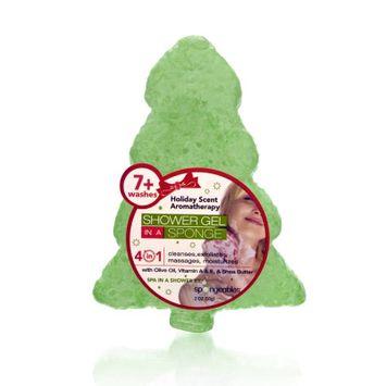 Spongeables Shower Gel in a Sponge (Green Tree) 7+ Uses