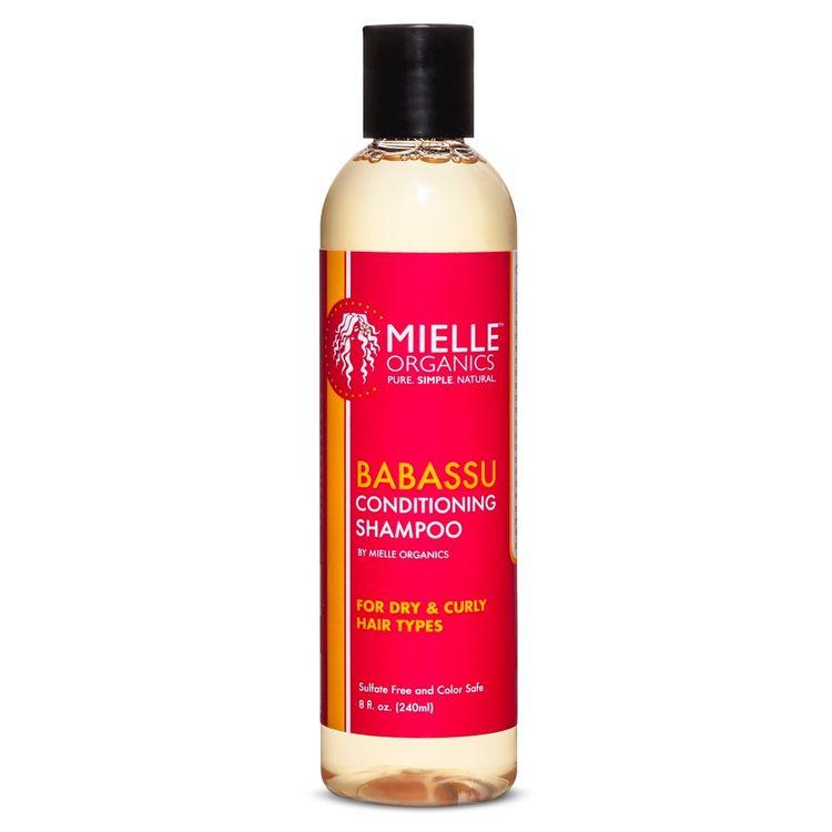 Mielle Organics Babassu Oil Conditioning Sulfate Free Shampoo 8 oz
