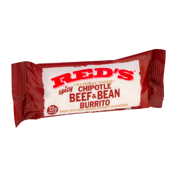 Red's Spicy Chipotle Beef & Bean Burrito
