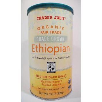 Trader Joe's Organic Fair Trade Shade Grown Ethiopian Whole Bean Coffee