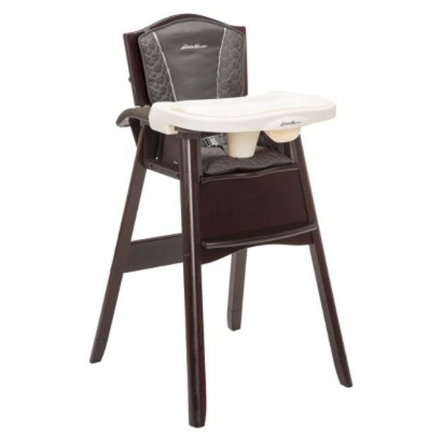 Eddie Bauer Classic 3-in-1 Wood High Chair - Coal Creek