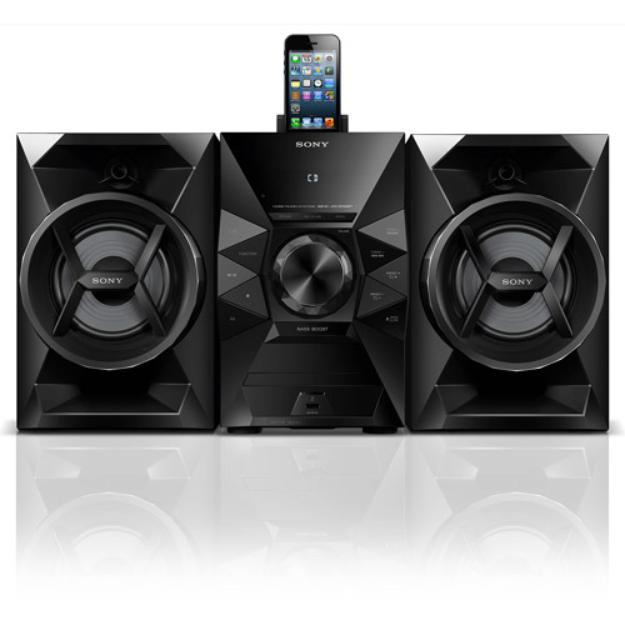 Sony Music System with Lightning Dock - Black (MHCEC619IP)