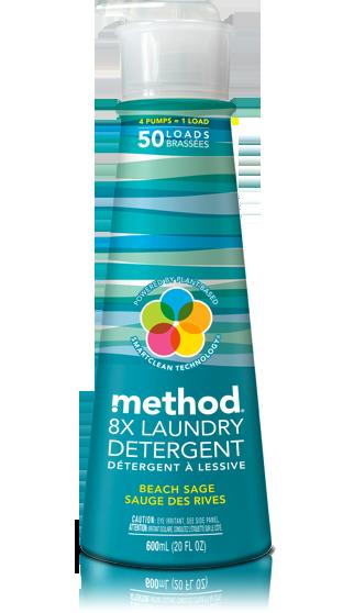 method 8x laundry detergent beach sage