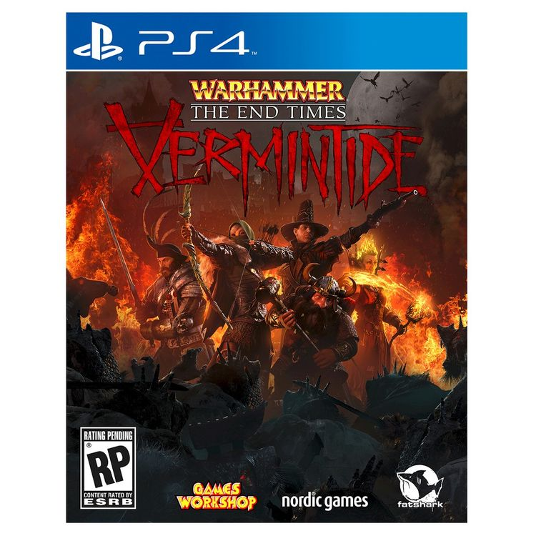 Nordic Games Na, Inc. Warhammer: End Times - Vermintide Playstation 4 [PS4]