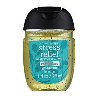 Bath & Body Works PocketBac Stress Relief Eucalyptus Spearmint Anti-Bacterial Hand Gel