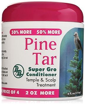 Bronner Brother's Pine Tar Super Gro Conditioner