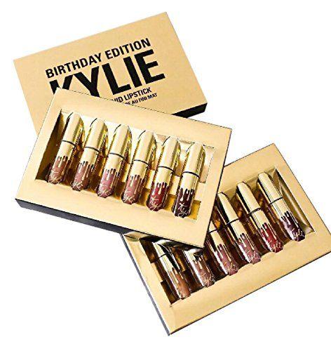 Kylie Cosmetics Limited Birthday Edition Kylie Matte Liquid Lipsticks