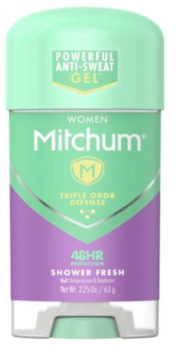 Mitchum Women Shower Fresh Gel Anti-Perspirant & Deodorant 2.25 Oz