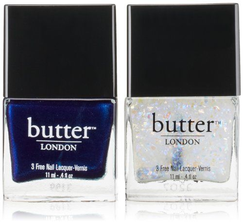 butter LONDON Ice Lacquer and Overcoat Duo