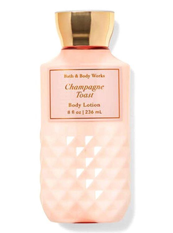 Bath & Body Works Champagne Toast Sparkling Bellini 8oz Body Lotion Fr Sh