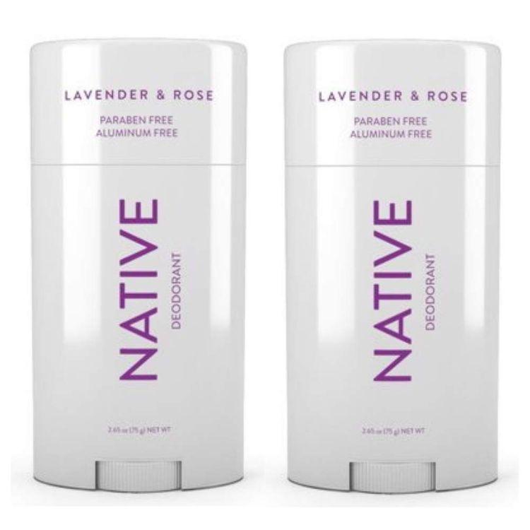 Native Deodorant Lavender & Rose .35 Oz Travel Size