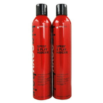 Sexy Hair Concepts Big Sexy Hair Spray & Play Harder, Firm Volumizing Hairspray, 20 oz