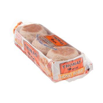 Thomas' Honey Wheat English Muffins - 6 CT