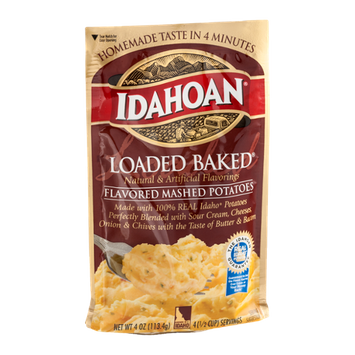 Idahoan Loaded Baked Flavored Mashed Potatoes