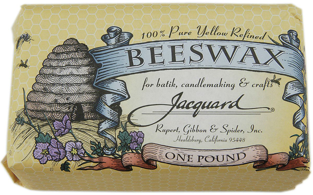 Jacquard Products 86391 Jacquard Beeswax 1 Pound-Yellow