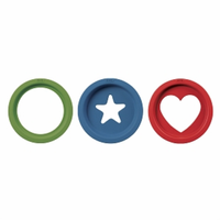 OXO Good Grips Cookie Cutter Set, Basics, 3 ea