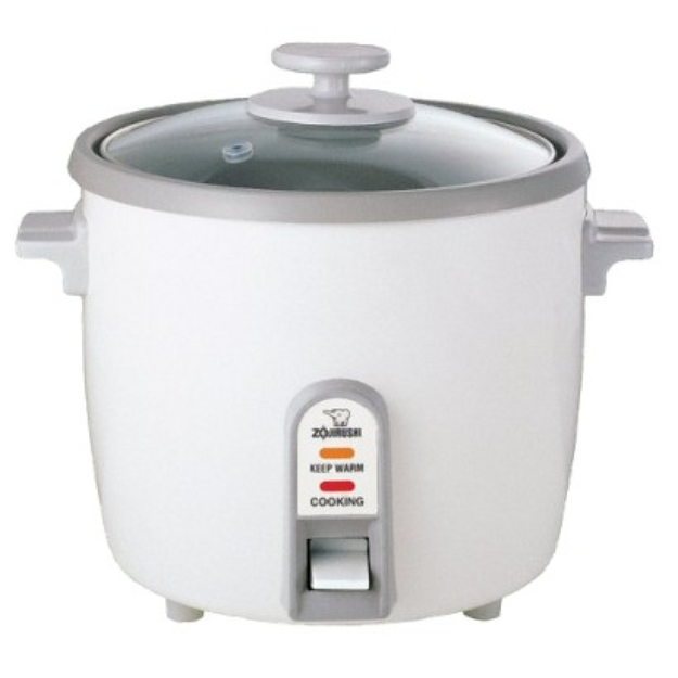 Zojirushi NHS-18WH Rice Cook/Steam/Warm - 10 Cup, White