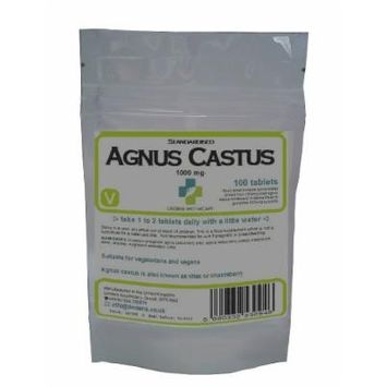 Agnus Castus 100 x 1000mg tablets (vitex)