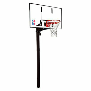 Spalding Glass In Ground Basketball System - 54