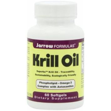 Jarrow Formulas Krill Oil 60 Count Pack of 2