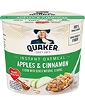 Quaker Instant Oatmeal Apples Cinnamon