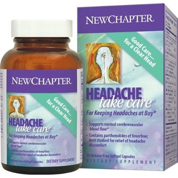 New Chapter Chapter Headache Take Care, 30 Softgels