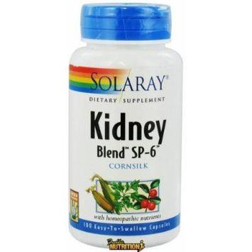 Solaray - Kidney Blend SP-6 Cornsilk - 100 Capsules