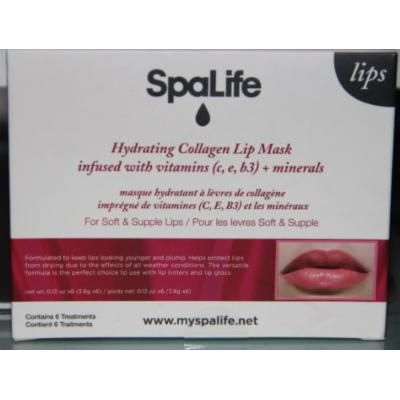Spalife Hydrating Collagen Lip Mask (Contains 6 Treatments)