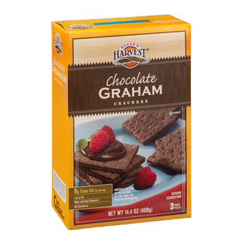 Baker's Harvest Chocolate Graham Crackers - 3 PK