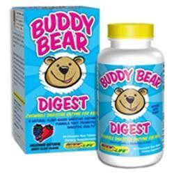 Renew Life Buddy Bear Digest for Kids Berry Blast - 60 Chewable Bear Tablets
