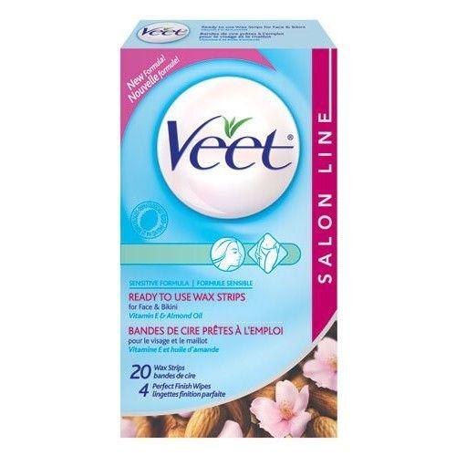 Veet Ready To Use Wax Strips 20 ea