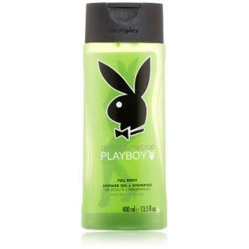 Playboy Body Wash, Hollywood, 13.5 Ounce