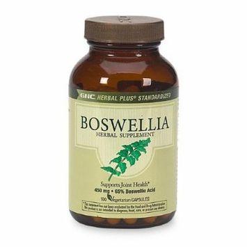 GNC Herbal Plus Boswellia, 450mg, Vegetarian Capsules 100 ea