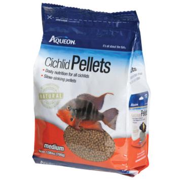 AqueonA Cichlid Pellets Fish Food