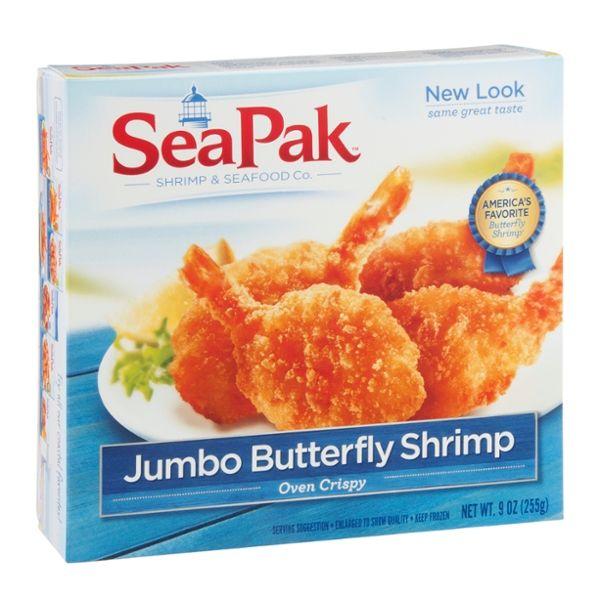 SeaPak Shrimp Jumbo Butterfly Oven Crispy