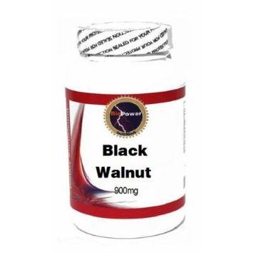Black Walnut 900mg 100 Capsules # BioPower Nutrition