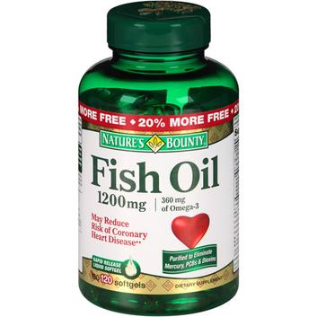 Nature's Bounty Fish Oil Softgels