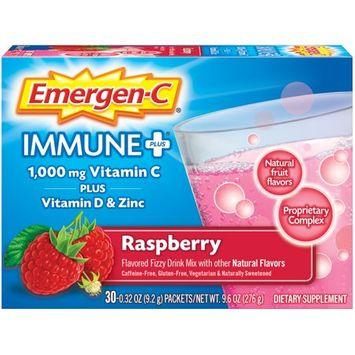 Emergen-C Enhanced Immune Support Fizzy Drink Mix Raspberry