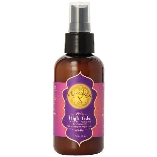 Marrakesh Marrakesh X High Tide Leave-In Treatment and Detangler with Hemp and Argan Oils, 4 Ounce