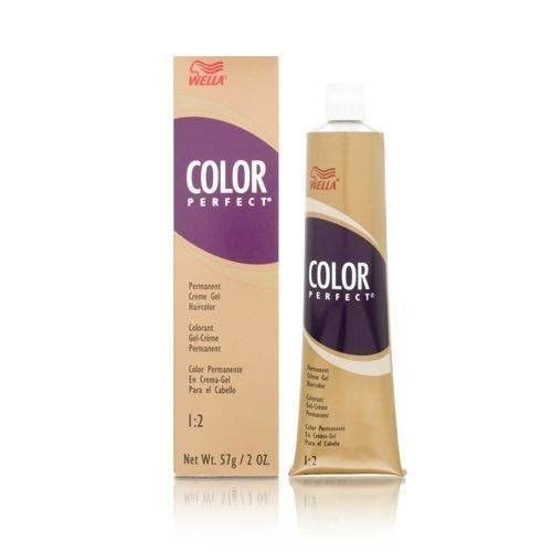 Wella Color Perfect Permanent Creme Gel 1:2 Hair Coloring Products