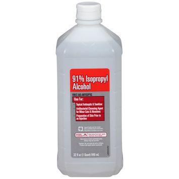 Walmart Vi-Jon 91% Isopropyl Alcohol First Aid Antiseptic, 32 fl oz