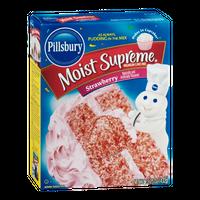 Pillsbury Moist Supreme Premium Cake Mix Strawberry