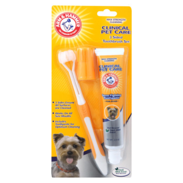 ARM & HAMMER™ Clinical Pet Care Dog Toothpaste & Toothbrush