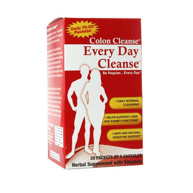 Health Plus Colon Cleanse Every Day Packets, 20 ea