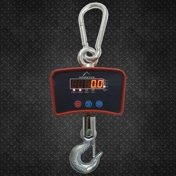 Apontus 500 KG / 1100 LBS Hanging Digital Crane Scale Heavy Duty Industrial