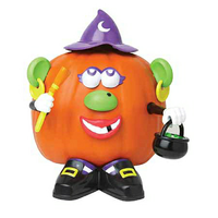 BuySeasons Mr. Potato Head Witch Pumpkin Decorating Kit