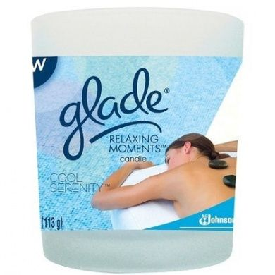 Glade Relaxing Moments Scented Candle